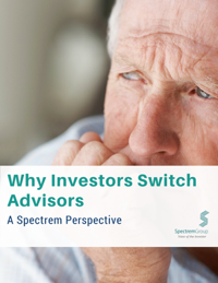 Spectrem: Why Investors Switch Advisors